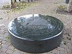 Monument Brandgrens Bombardement Willemskade Rotterdam - German bombing of Rotterdam.jpg