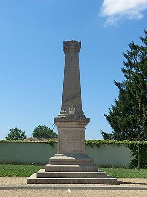Ambutrix - War Memorial at Ambutrix