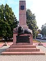 Monument to defenders of Poltava (front side).jpg