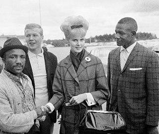 Eddie Cotton American boxer