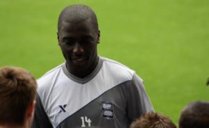 Morgaro Gomis - Gomis signing autographs in Birmingham City's 2011 pre-season