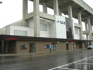 Morimoto Station Railway station in Kanazawa, Ishikawa Prefecture, Japan