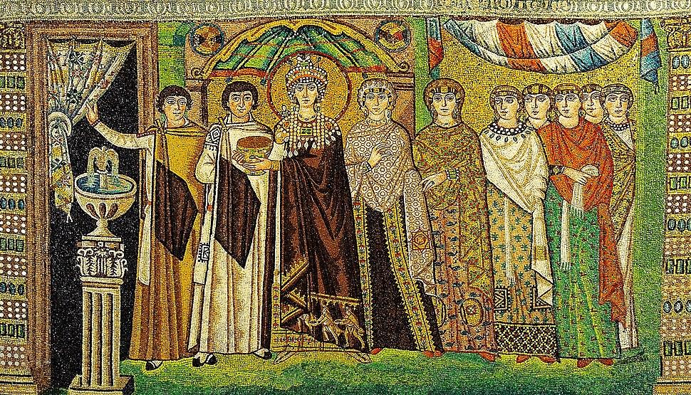 Mosaic of Theodora - Basilica San Vitale (Ravenna, Italy)