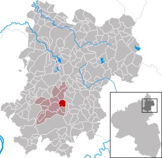 Moschheim Place in Rhineland-Palatinate, Germany