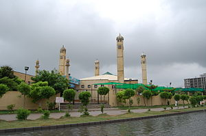 Defence Housing Authority, Karachi - Image: Mosque in DHA, Karachi