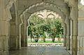 Mosque inside Bagh-e Babur in 2013.jpg