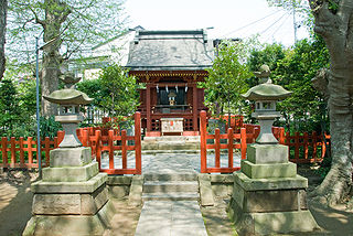 Shinto shrine in Kanagawa Prefecture, Japan