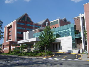 Mountainside Hospital - Image: Mountainside Hospital in Montclair