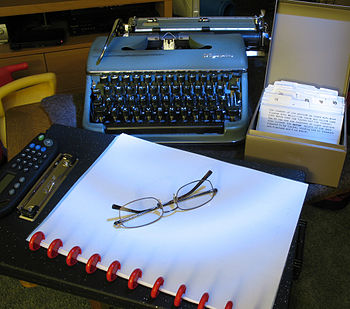 The setup for NaNoWriMo at home, if I need to ...