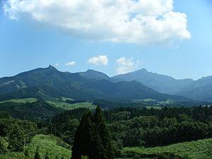 Mount Sobo - Mt. Sobo in August