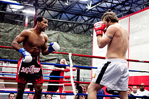 Muay Thai - Muay Thai championship boxing match in Sterling, VA