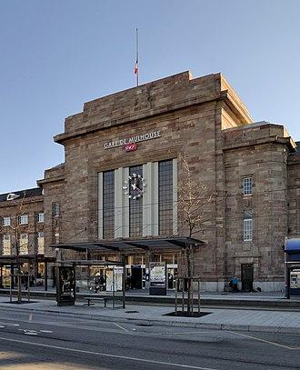 Gare de Mulhouse - Image: Mulhouse Hauptbahnhof 3
