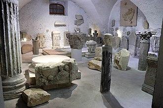 Die, Drôme - Image: Musée archéologique de Die salle 5