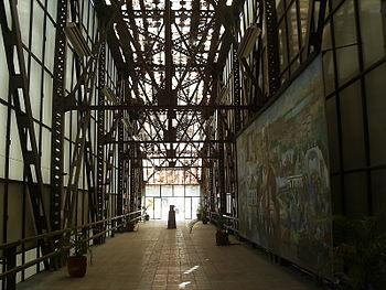 Interior del Museo Puente de Arte