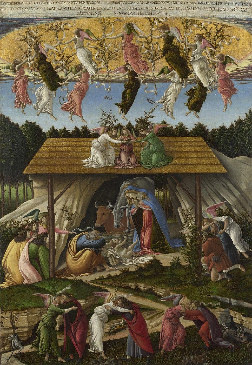 Mystic Nativity, Sandro Botticelli