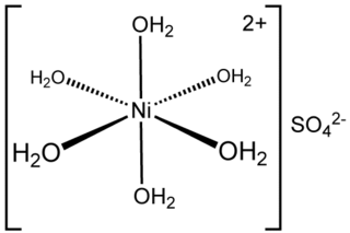 Nickel(II) sulfate chemical compound