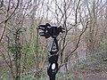 NCN Millennium Milepost MP468 Abercynon Rhondda Cynon Taff.jpeg