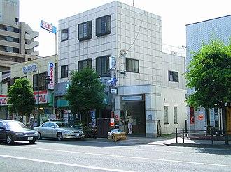 Nagamachi-Itchōme Station - Nagamachi-Itchōme Subway Station in July 2005