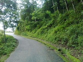 Namchi - Narrow Road Connecting Rangpo with Namchi