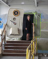 Nancy Reagan tours plane.jpg