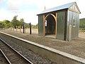 Nantyronen railway station platform.jpeg
