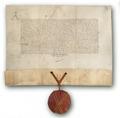 Napoli, 1444, Privilegio del re Alfonso il Magnanimo, con sigillo in ceralacca (ASCP).tif