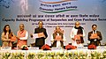 Narendra Singh Tomar releasing the publication at the inauguration of the National Conference of Sarpanches and Gram Panchayat Secretaries, in New Delhi.jpg