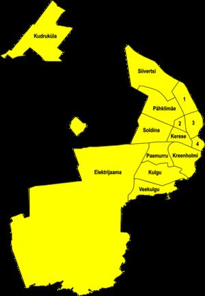 Narva linnaosad