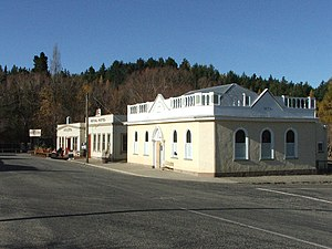 Naseby, New Zealand - The historic precinct of Naseby, New Zealand