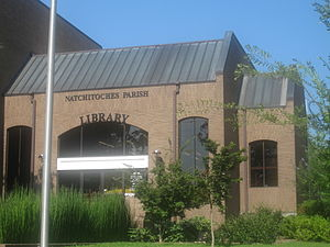 Natchitoches Parish, Louisiana - The Natchitoches Parish Library.