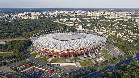 National Stadium, Warsaw National Stadium Warsaw aerial view 2.jpg