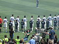 National anthem at Galaxy at Earthquakes 2010-08-21 4.JPG