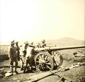 "QF 12-pounder 12 cwt naval gun - Naval Brigade with ""Long Twelve"" in Natal"