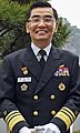 Navy (ROKN) Vice Admiral Jung Jin-sup 해군중장 정진섭 (US Navy photo 170405-N-WT427-054 Commander of U.S. Pacific Fleet Visits Republic of Korea).jpg