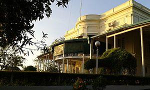 SLN Dockyard - Navy House official residence of the Commander of the Sri Lanka Navy, located in SLN Dockyard