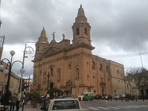 Naxxar - The parish church