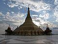 Naypyidaw -- Uppatasanti Pagoda -- corner view.JPG