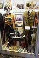 Nazi Germany uniforms etc. SA NSKK helmet bugle dagger + Wehrmacht chaplain + Org. Todt, camera, shovel, etc Lofoten krigsminnemuseum Norway 2019 DSC09826.jpg
