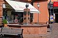 Neckargemünd - Brunnen auf dem Marktplatz.JPG