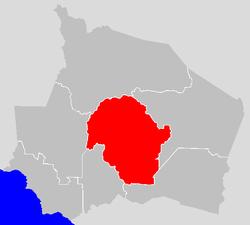Vị trí của Huyện Kuala Pilah