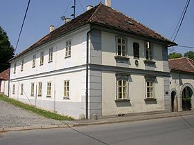 Nelahozeves birthhouse of Antonin Dvorak.JPG
