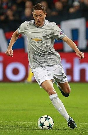 Nemanja Matić - Matić playing for Manchester United in 2017
