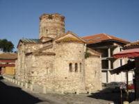 Church of St John the Baptist (11th century) in Nessebar