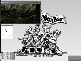 NetBSD 3.1 avec Enlightenment