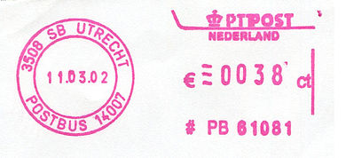 Netherlands stamp type QB5.jpg