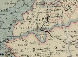 Netze District - Netze District in 1786