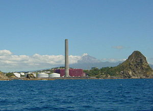 New Plymouth Power Station - NPPS from the sea