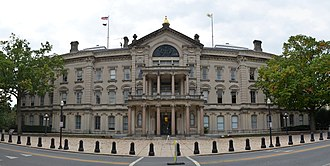 218th New Jersey Legislature - Image: New Jersey State House north panorama