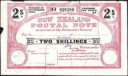 New Zealand 1953 2 Shillings Postal Note.jpg