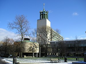 Newcastle City Centre - Newcastle Civic Centre, Haymarket